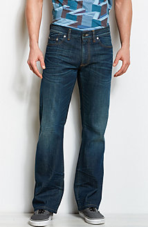 J101 - Authentic Distressed Bootcut Jean<br>Online Exclusive