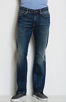 J101 - Authentic Wash Bootcut Jean<br>Online Exclusive