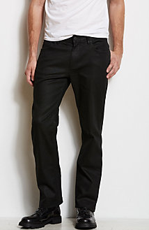 J65 - Straight Leg Black Jean<br>Online Exclusive
