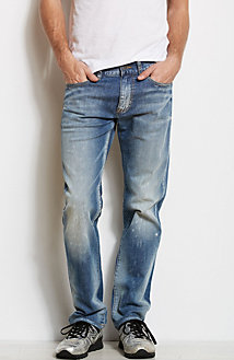 J66 - Destroyed Slim Straight Jean<br>Online Exclusive