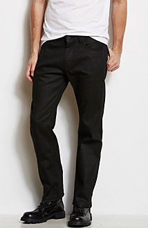 J66 - Black Slim Straight Jean<br>Online Exclusive