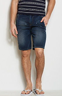 J65 - Destroyed Denim Short<br>Online Exclusive