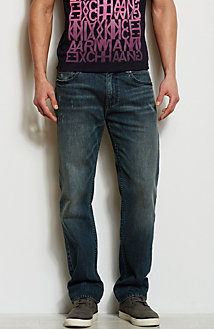 J66 - Dark Tinted Stretch Jean<br>Online Exclusive
