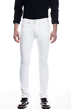 White Stretch Skinny Jean