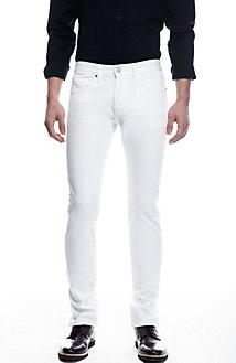 White Stretch Skinny Jean