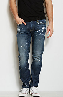 J66 - Paint Splatter Jean<br>Online Exclusive