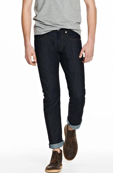 Indigo Dark Rinse Skinny Jean