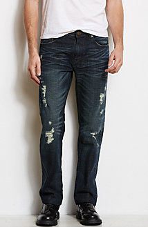 J66 - Destroyed Selvedge Jean<br>Online Exclusive
