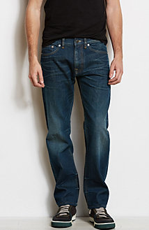 J66 - Authentic Whiskered Slim Straight Jean<br>Online Exclusive