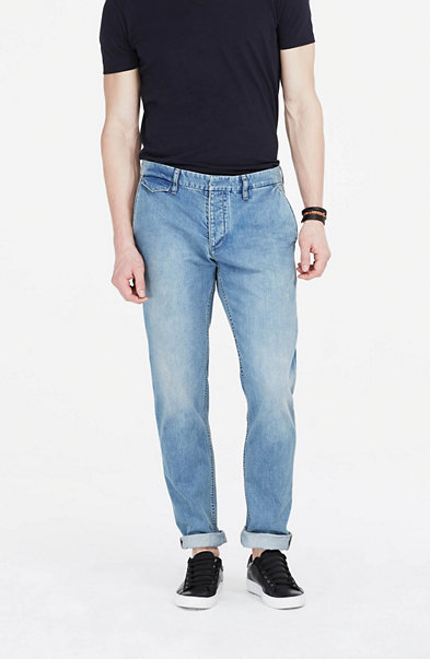 Heavy Wash Chino Jean