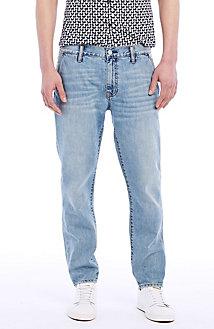 Tapered-Leg Jean