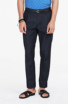 Chambray Relaxed Trouser