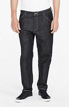 Pieced Indigo Jean