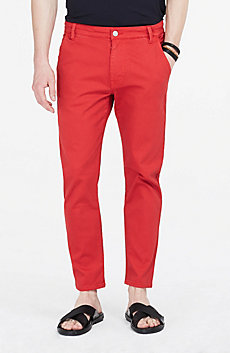 Cropped Tapered Skinny