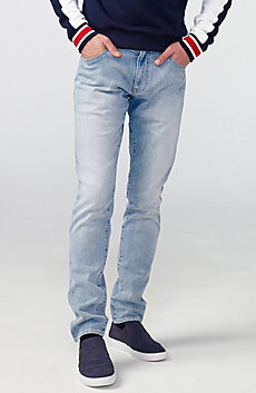 Light Wash Skinny Fit Jean