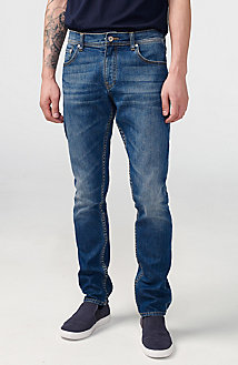 Skinny-Fit Distressed Jean