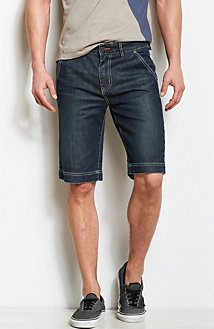 Denim Trouser Short<br>Online Exclusive