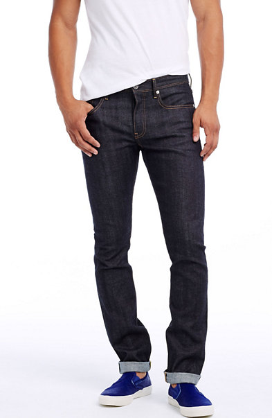 Rinsed Japanese Selvedge Super Skinny Jean