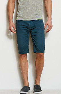 Colored Twill Denim Short<br>Online Exclusive