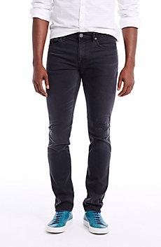 Black Rip and Repair Jean