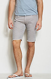 Seamed Cord Shorts