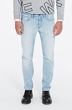 Light Indigo Straight Jean