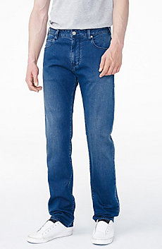Relaxed Straight-Leg Jean