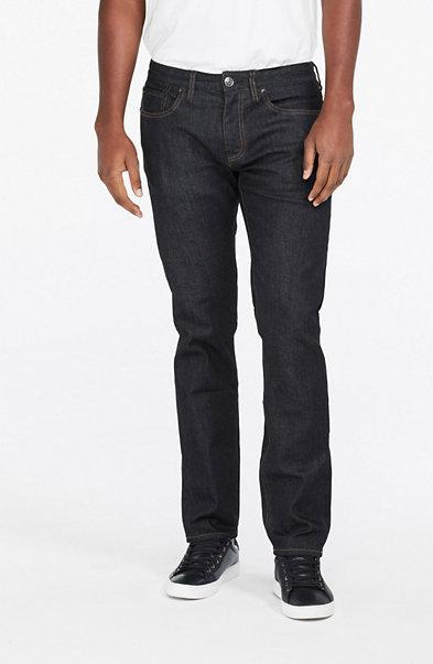 Dark Straight-Leg Jean