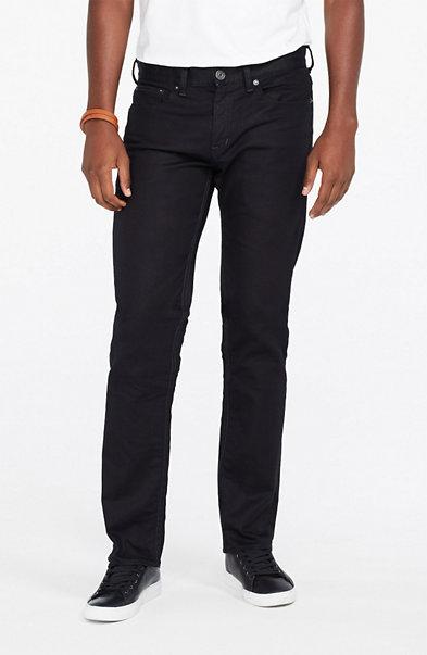 Blue Black Straight Jean