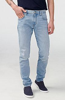 Slim-Fit Light-Wash Jean