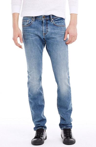 Crystal Blue Wash Skinny Jean