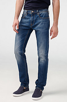 Medium-Wash Slim-Fit Jean