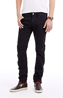 Contrast Cuff Skinny Jean