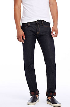 Cuff Selvedge Skinny Jean