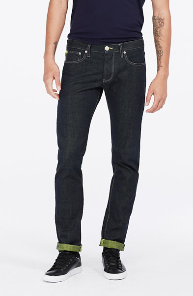Colored Selvedge Skinny Jean