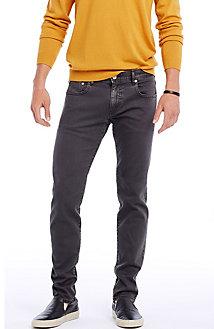 Garment-dyed Skinny Jean