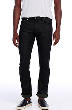 Black/Green Fill Skinny Jean
