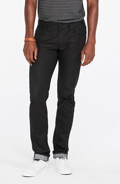 Black Coated Skinny Jean