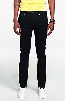 Clean Black Skinny Jean