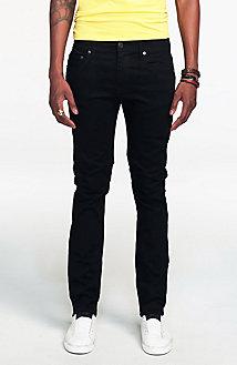 Clean Black Skinny Jean