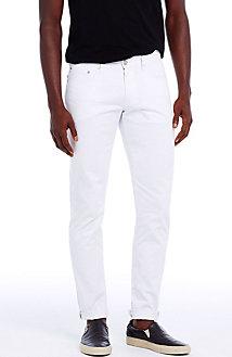 White Selvedge Skinny Jean