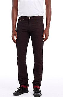 Metallic Selvedge Skinny Jean