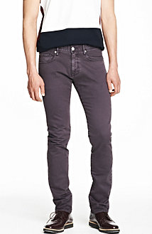 Colored Stretch Twill Jean