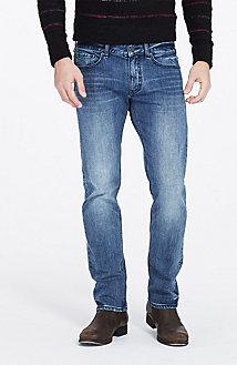 Crystal Blue Straight Jean