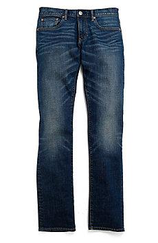 Classic Indigo Wash Straight Leg Jean