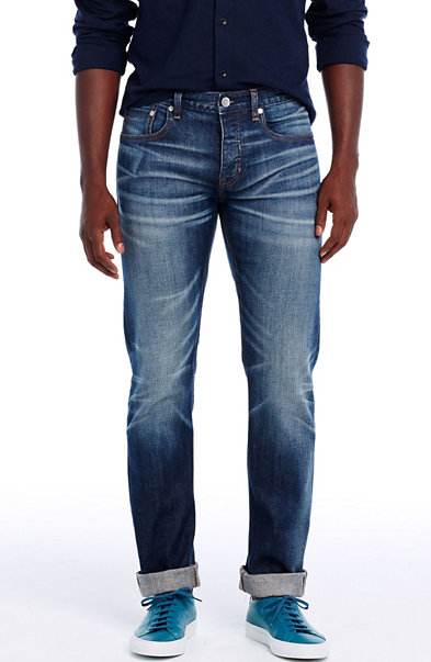 Japanese Selvedge Straight Leg Jean