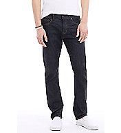 Dark Rinse Straight Leg Jean