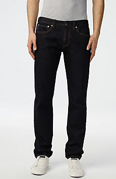 Dark Rinse Straight-Leg Jean
