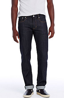 Rinsed Japanese Selvedge Straight Leg Jean