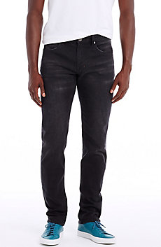 Black Wash Straight Leg Jean